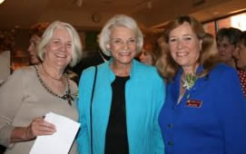 Pat Faur, Justice Sandra Day O'Connor, April Riggins